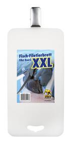 XXL Fisch Filetierbrett 61 x 30 cm aus Spezialkunststoff mit starker Klemme