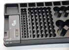 2in1 Batterie Organizer und Tester für bis zu 98 Batterien AAA bis D-Batterien