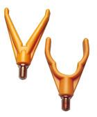 Rutenauflagen einzeln mit englischem Gewinde U-Form oder V-Form