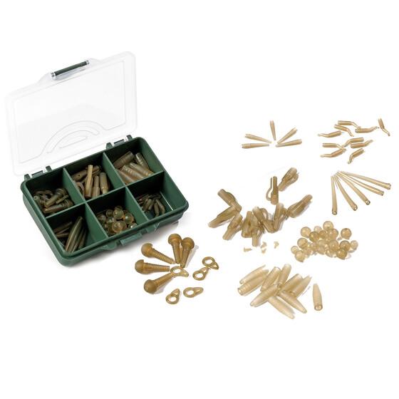 Behr RedCarp Pro-Set 3 mit 70 Teilen Karpfenzubehör in einer Kunststoffbox