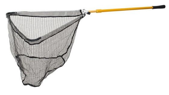 Behr OCTAplus Allroundkescher mit gummiertem Netz und Klappmechanismus zwei Größen