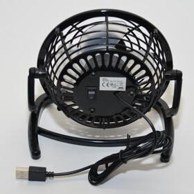 USB Tischventilator Ventilator mit Standfuß ideal...