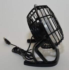 USB Tischventilator Ventilator mit Standfuß ideal für den Schreibtisch