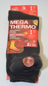 Mega Thermo Socken / dunkelgrau Gr. 47-50