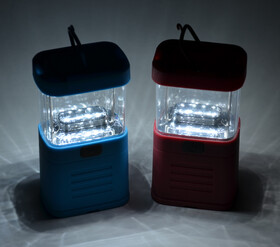 LED Campingleuchte mit 11 Power LEDs aus Silikon sehr...