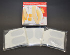 HPXmed Wärmegürtel 3er Packung für bis zu je 12 Stunden Tiefenwärme für den Rücken