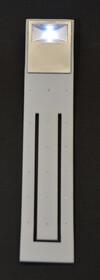 LED Leseleuchte mit flexiblem Arm zur einfachen Einstellung des Winkels weiß