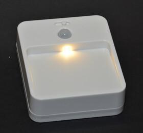 LED Nachtlicht warmweiß batteriebetrieben mit Bewegungsmelder 20 Lumen