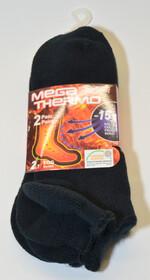 2er Packung Mega Thermo Sneaker Socks Gr. 36-41 schwarz