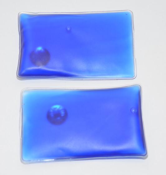 2er Set Taschenwärmer Handwärmer blau wiederverwendbar für bis zu 45 Minuten Wärme