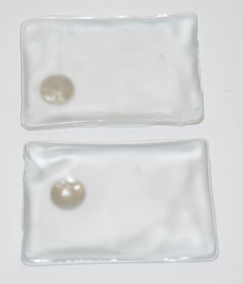 2er Set Taschenwärmer Handwärmer transparent wiederverwendbar für bis zu 45 Minuten Wärme