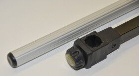 Behr Allround-Arm zweiteilig mit Aluminiumstab und Innengewinde 25mm Durchmesser