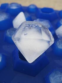 Silikon Eiswürfelform für 27...