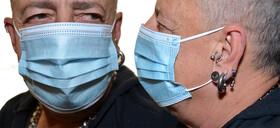 Einwegmaske Gesichtsmaske für Erwachsene in blau...