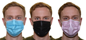 Einwegmaske Mund- und Nasenmaske für Erwachsene in...