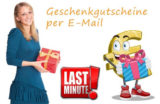 Geschenkgutschein per E-Mail 5 Euro bis 300 Euro
