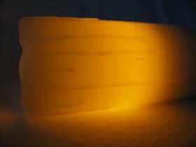 LED Echtwachskerzen 6er Set mit Ladestation