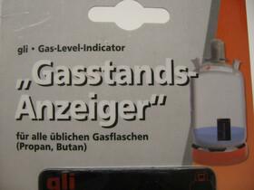 Gasstands-Anzeiger für Gasflaschen