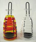 Windlichter für Teelichter zum Stellen und Hängen im 2er-Set