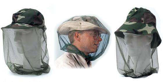 Moskito & Mücken Netz mit Hut und einzeln