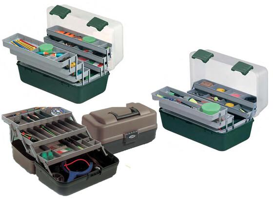Gerätekasten für Angelzubehör in verschiedenen Ausführungen