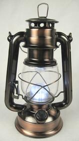 Dimmbare LED Sturmlampe warmweiß mit 15 Power LEDs...