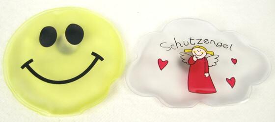 Taschenwärmer 2er Set Smile & Engel für bis zu 60 Minuten warme Hände