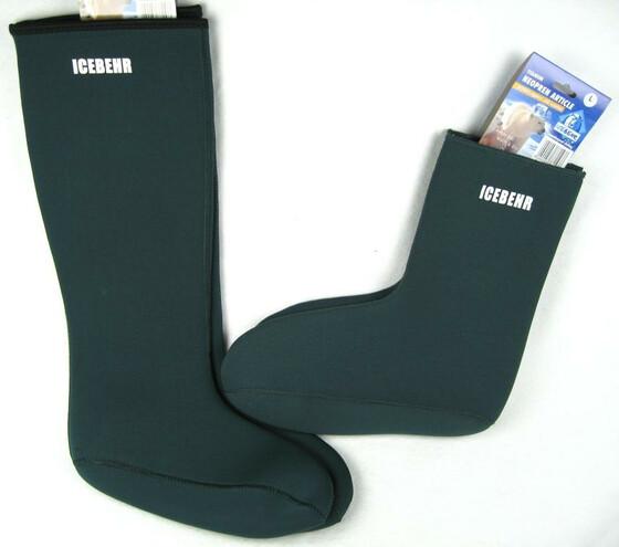 3mm Neopren Socken kurz und lang Gr. 39-47 mit Innenfleece gegen kalte Füße