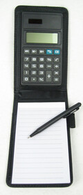 Notizset - Notizblock mit Stift und Taschenrechner in...