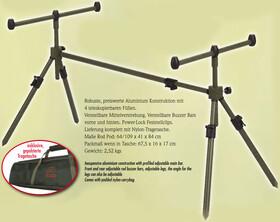 Aluminium Rod Pod komplett mit Buzzer Bars, Power-Lock...