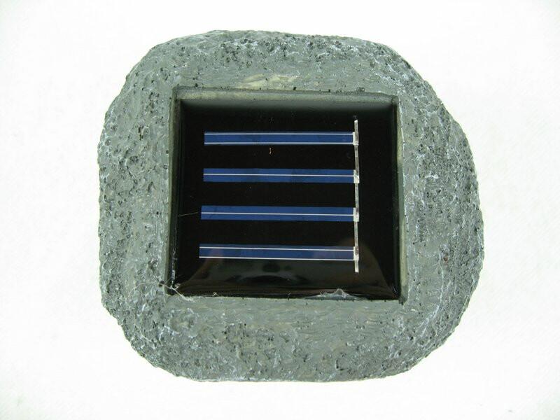 solar stein gartenlicht f r bis zu 8 std licht im garten 7 95. Black Bedroom Furniture Sets. Home Design Ideas