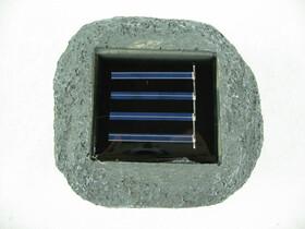 Solar Stein Gartenlicht für bis zu 8 Std. Licht im...
