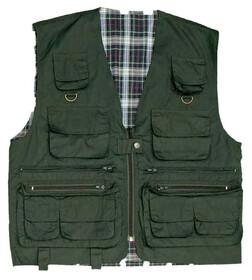 Behr Anglerweste mit 12 Taschen / Gr.  L