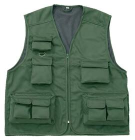 Behr Anglerweste mit 11 Taschen / Gr. L