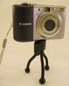 Mini Kamera Stativ aus Metall 85mm lang,30 Gramm leicht