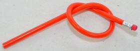XXL Bleistift 30cm lang extrem biegsam rot