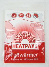 HeatPaxx Fußwärmer / Zehenwärmer 5 Paar im Hamsterpack für je bis zu 6 Stunden Wärme