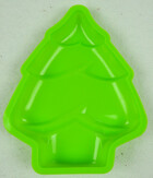 Silikon Backform Tannenbaum in rot oder grün