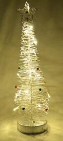 Leuchtender LED Weihnachtsbaum mit 20 LEDs warmweiß
