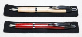 Edle Holzkugelschreiber in zwei verschiedenen Holzarten...