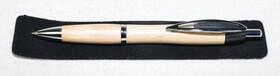 Holzkugelschreiber/ hell / Ahorn inkl. Geschenketui